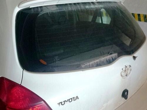 Hàng chục ô tô bị trộm lột phụ tùng trong một đêm