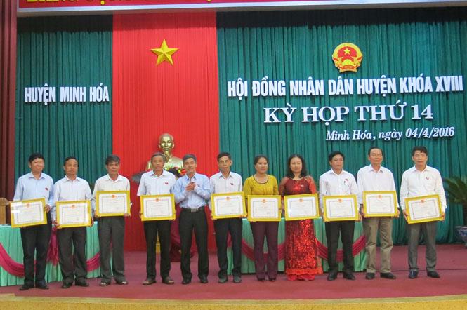 HĐND huyện Minh Hóa tổng kết nhiệm kỳ 2011-2016