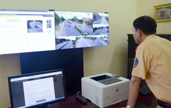 Hiệu quả giám sát qua camera trên quốc lộ 1A