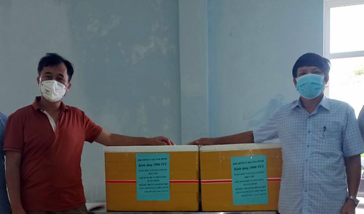 Hỗ trợ 1.000 túi thuốc cho bệnh nhân Covid-19