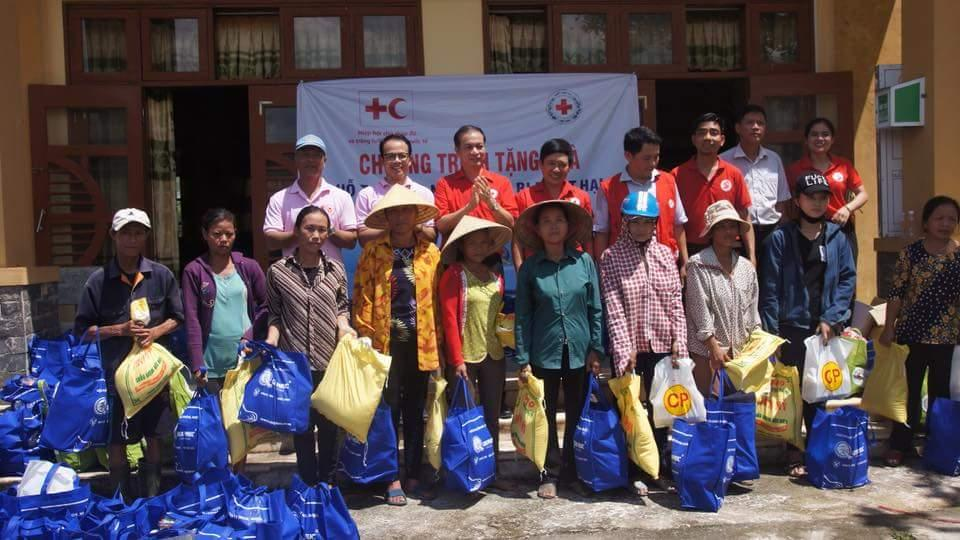 Hỗ trợ người dân vùng bị thiệt hại do bão số 10