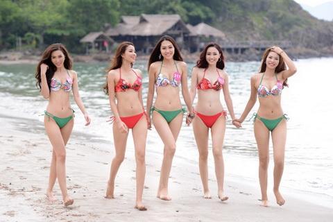 Hoa hậu Hoàn vũ: Top 45 người đẹp xuất sắc trong phần thi bikini, dạ hội...