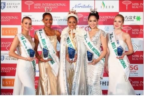 Hoa hậu Quốc tế: Thúc đẩy hòa bình, thiện chí trên toàn thế giới.