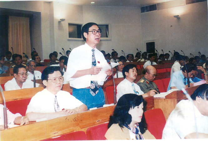 Hoạt động của Đoàn đại biểu Quốc hội tỉnh Quảng Bình khóa X (1997-2002)