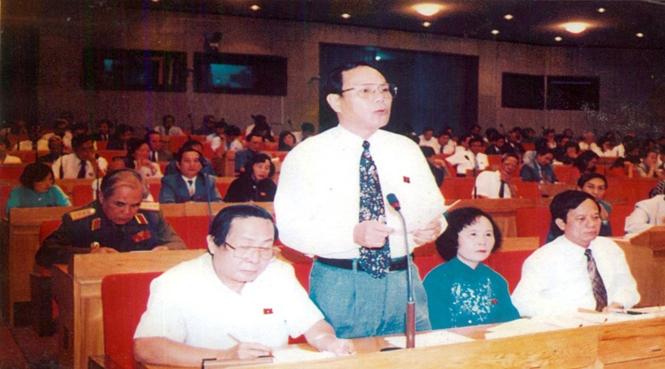 Hoạt động của Đoàn đại biểu Quốc hội tỉnh Quảng Bình những năm 1989-1997