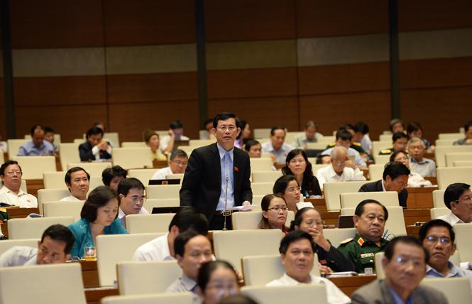 Hoạt động của Đoàn đại biểu Quốc hội tỉnh tại kỳ họp thứ 10, Quốc hội khóa XIII: Cần có biện pháp hữu hiệu để hạn chế tối đa thất thu