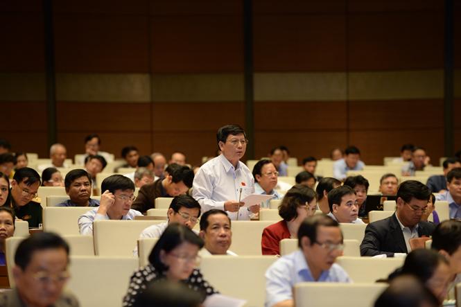 Hoạt động của Đoàn đại biểu Quốc hội tỉnh tại Kỳ họp thứ 10, Quốc hội khoá XIII: Tích cực góp phần vào sự thành công của kỳ họp