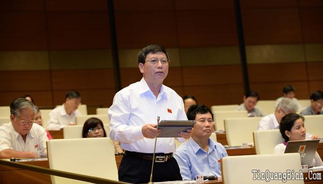 Hoạt động của Đoàn ĐBQH tỉnh tại Kỳ họp thứ 9, Quốc hội khoá XIII: Đóng góp nhiều ý kiến quan trọng