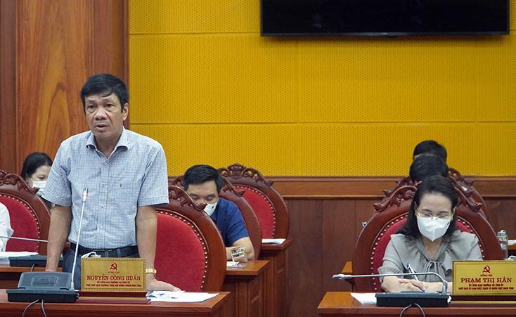 Hội nghị Ban Thường vụ Tỉnh ủy lần thứ 23