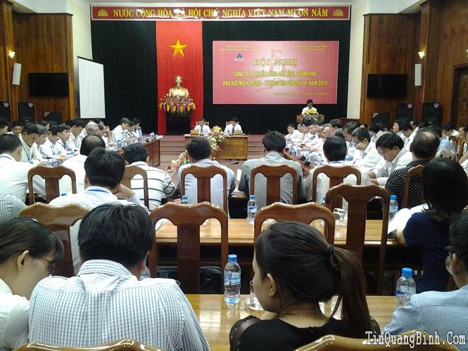 Hội nghị công tác khuyến công các tỉnh, thành phố khu vực miền Trung-Tây nguyên lần thứ VI
