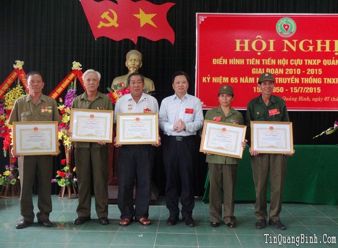 Hội nghị điển hình tiên tiến Hội Cựu TNXP Quảng Bình giai đoạn 2010-2015