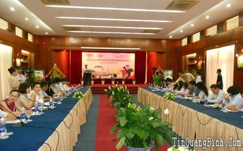 Hội nghị kết nối du lịch Quảng Bình và các doanh nghiệp lữ hành lớn thành phố Hồ Chí Minh