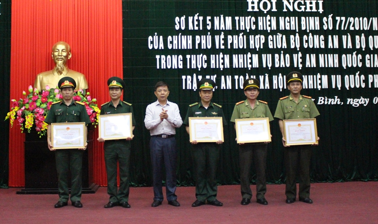 Hội nghị sơ kết 5 năm thực hiện Nghị định 77 của Chính phủ về phối hợp giữa Bộ Công an và Bộ Quốc phòng