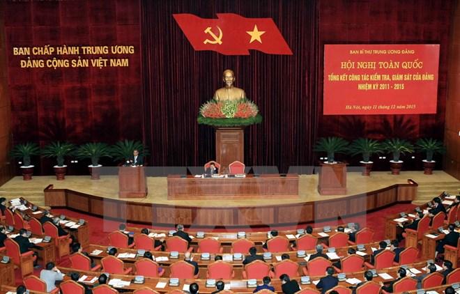 Hội nghị toàn quốc tổng kết công tác kiểm tra, giám sát của Đảng