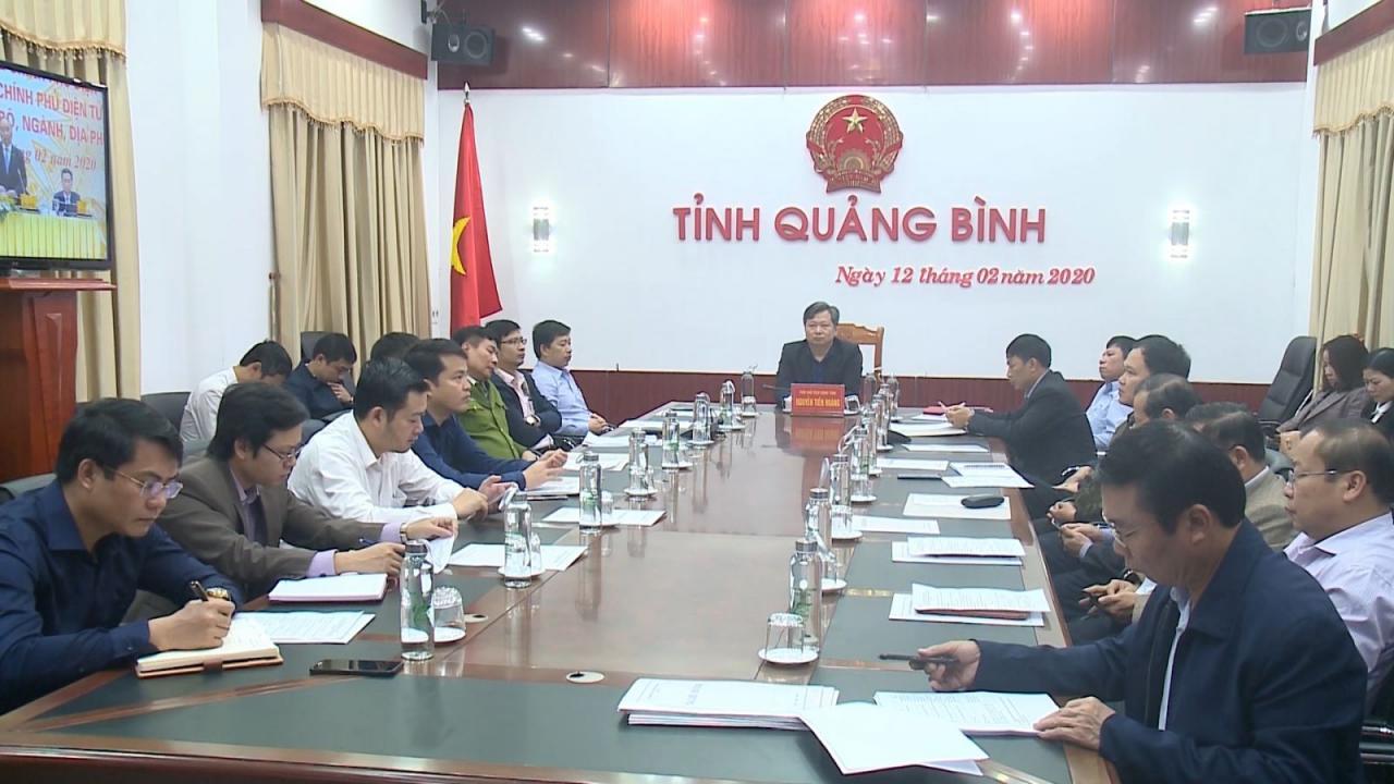 Hội nghị trực tuyến toàn quốc về xây dựng Chính phủ điện tử