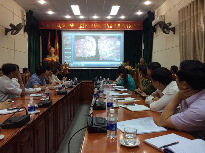 Hội nghị tuyên truyền phòng chống tội phạm, AIDS và tệ nạn ma túy