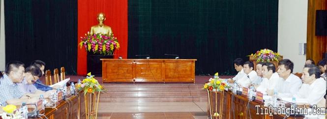 Hội nghị xúc tiến đầu tư vào Quảng Bình lần thứ II sẽ tổ chức vào trung tuần tháng 8-2015