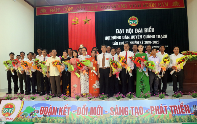 Hội Nông dân huyện Quảng Trạch đẩy mạnh phong trào thi đua sản xuất kinh doanh giỏi