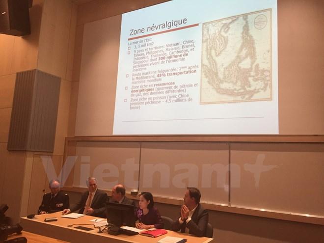 Hội thảo tại Pháp về tranh chấp chủ quyền và vấn đề Biển Đông