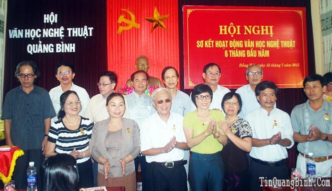 Hội Văn học Nghệ thuật Quảng Bình triển khai nhiệm vụ 6 tháng cuối năm 2015
