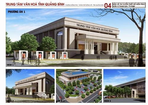 Họp bàn phương án thiết kế kiến trúc công trình Trung tâm Văn hóa tỉnh