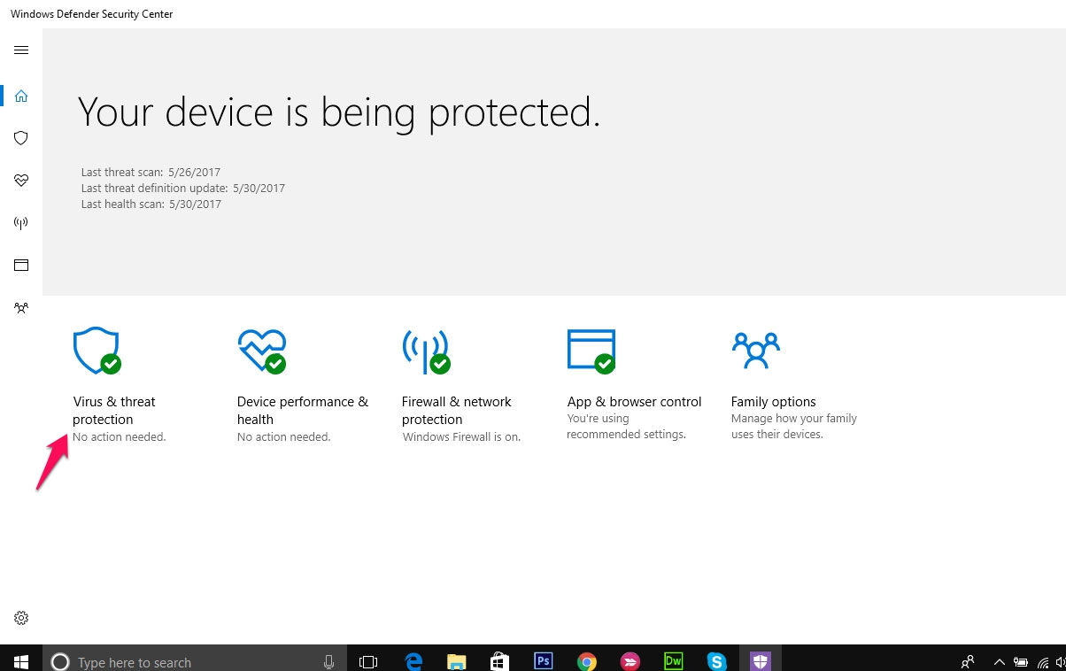 Hướng dẫn sử dụng Windows Defender Offline trong Windows 10