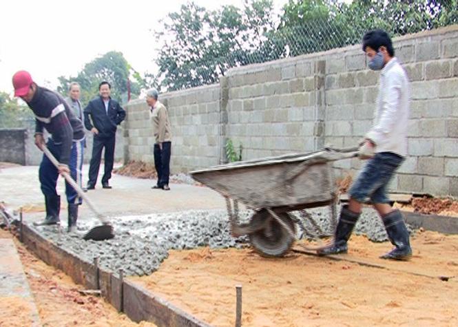 Huy động đóng góp của nhân dân trên 36 tỷ đồng xây dựng nông thôn mới