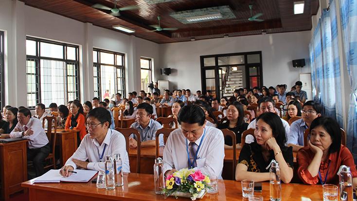 Khai giảng lớp trung cấp lý luận chính trị-hành chính hệ tập trung, khóa 39,40