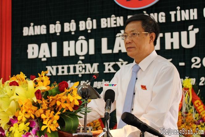 Khai mạc Đại hội Đảng bộ Bộ đội Biên phòng tỉnh lần thứ XXIII, nhiệm kỳ 2015-2020