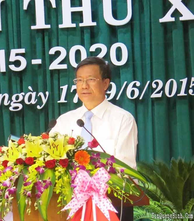 Khai mạc Đại hội Đảng bộ huyện Minh Hóa lần thứ XX, nhiệm kỳ 2015-2020