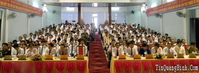Khai mạc Đại hội Đảng bộ huyện Tuyên Hoá lần thứ XX, nhiệm kỳ 2015-2020