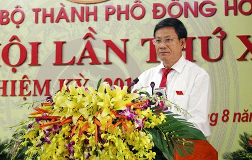 Khai mạc Đại hội Đảng bộ thành phố Đồng Hới lần thứ XX, nhiệm kỳ 2015-2020