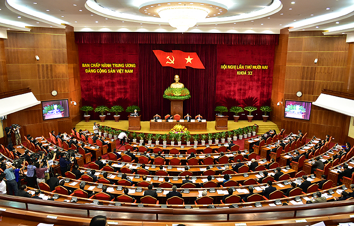 Khai mạc Hội nghị Trung ương lần thứ 12