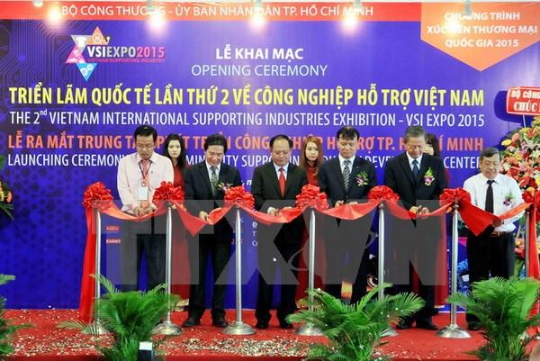 Khai mạc Triển lãm Quốc tế về Công nghiệp hỗ trợ Việt Nam lần 2