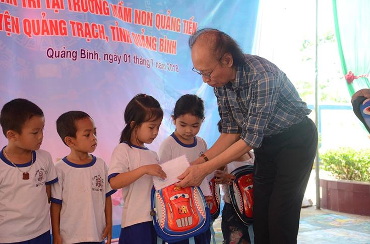 Khánh thành công trình phòng học Dân trí tại xã Quảng Tiến
