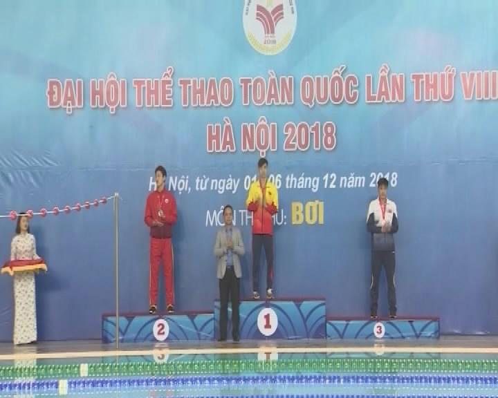 Khen thưởng các VĐV, HLV đạt thành tích xuất sắc tại Đại hội Thể thao toàn quốc lần thứ VIII...