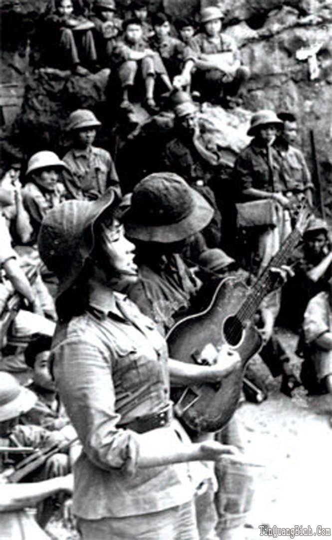 Khí thế Quảng Bình qua các ca khúc chống Mỹ