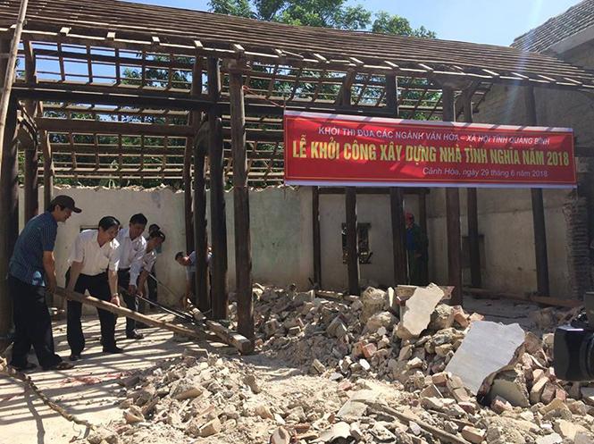 Khởi công xây nhà tình nghĩa cho nạn nhân bị nhiễm chất độc hóa học