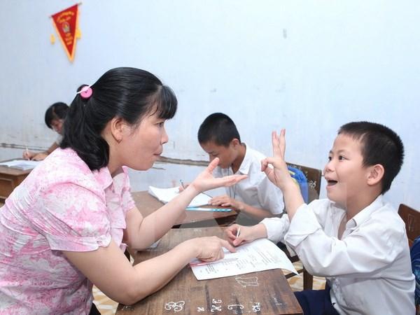 Khởi động dự án giáo dục hòa nhập cho trẻ khuyết tật Quảng Bình