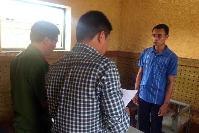 Khởi tố đối tượng vận chuyển ma túy tổng hợp qua biên giới Việt-Lào
