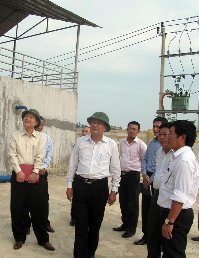 Kiểm tra mô hình quản lý công trình cấp nước sạch sau đầu tư tại xã Thanh Trạch