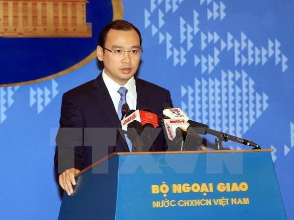 Kiên quyết phản đối sử dụng vũ lực đối với các tàu thuyền của Việt Nam