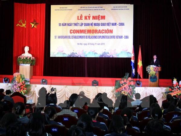 Kỷ niệm 55 năm ngày thiết lập quan hệ ngoại giao Việt Nam-Cuba