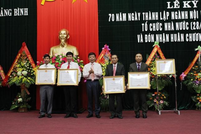 Kỷ niệm 70 năm ngày thành lập ngành Nội vụ, ngày truyền thống ngành Tổ chức Nhà nước