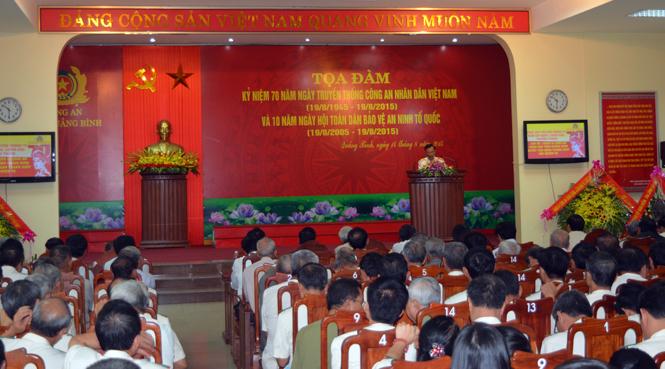 Kỷ niệm 70 năm ngày truyền thống Công an nhân dân Việt Nam