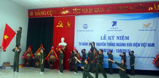 Kỷ niệm 70 năm ngày truyền thống ngành Bưu điện Việt Nam