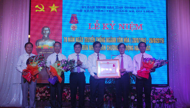 Kỷ niệm 70 năm ngày truyền thống ngành Văn hóa và đón nhận Huân chương Lao động hạng Nhất