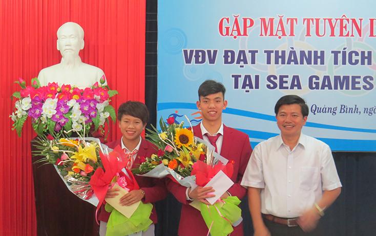 """Kỳ vọng """"vàng"""" của vận động viên Quảng Bình tại SEA Games 30"""