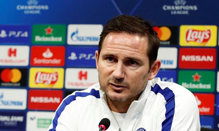 Lampard: 'Chelsea sẽ trải nghiệm sớm áp lực đá loại trực tiếp'