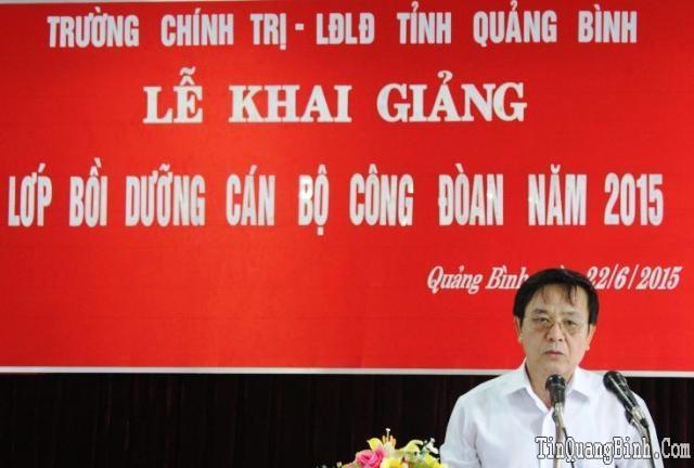 LĐLĐ Quảng Bình: Tập huấn bồi dưỡng công đoàn năm 2015